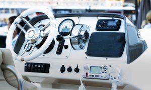 Marine radio installed by Precision Installation, Inc.