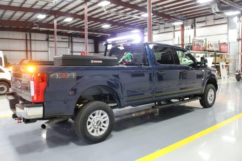 Custom Upfitting for Commercial Truck