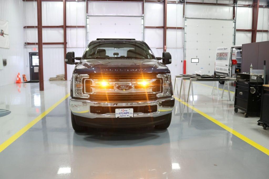 Truck Lighting Installation
